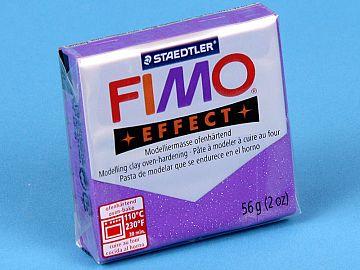 Fimo Effect Glitter - Pasta Polimerica Violet 56g (8020 602)
