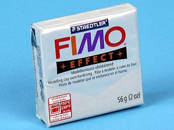 Fimo Effect Glitter - Pasta Polimerica Argintiu 56g (8020 812)