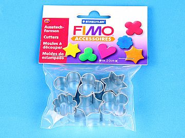 Fimo Accessories 6 x Forme Modelaj (8724 03)