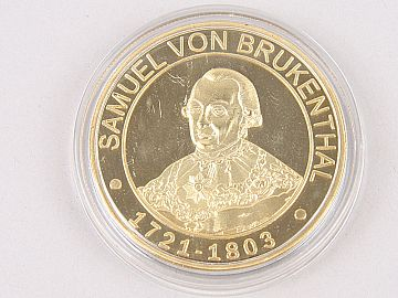 Medalie Samuel von Brukenthal & Castelul Brukenthal WD11
