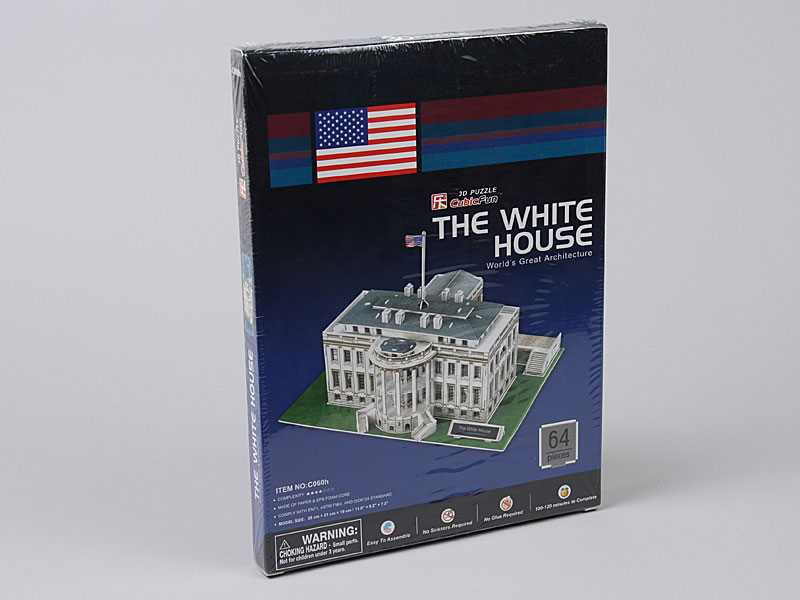 3D Puzzle C060H The White House