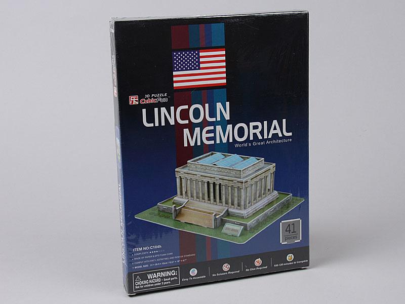 3D Puzzle C104H Lincoln Memorial