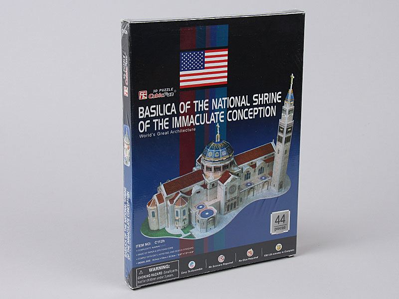 3D Puzzle C112H Basilica of the Immaculate Conception