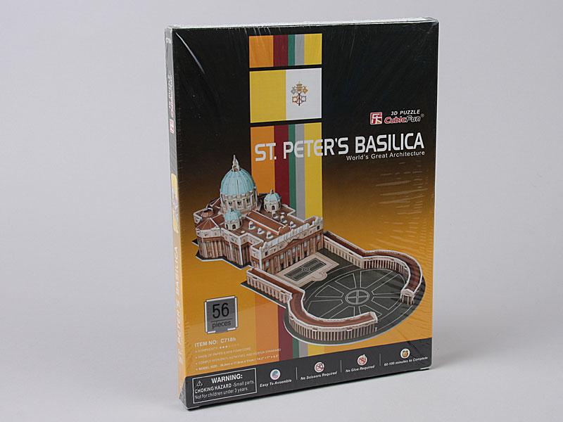 3D Puzzle C718H ST. Peter's Basilica