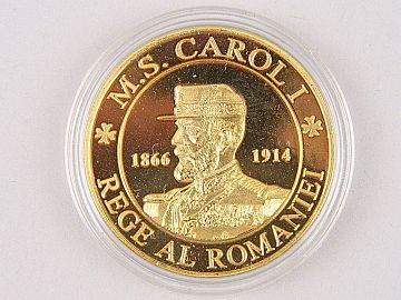 Medalie Regele Carol & Regina Elisabeta WD05