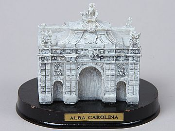 Miniatura Cetatea Alba Carolina Poarta a-III-a