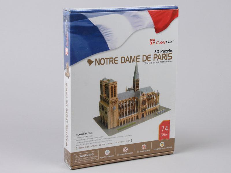3D Puzzle MC054H Notre Dame de Paris