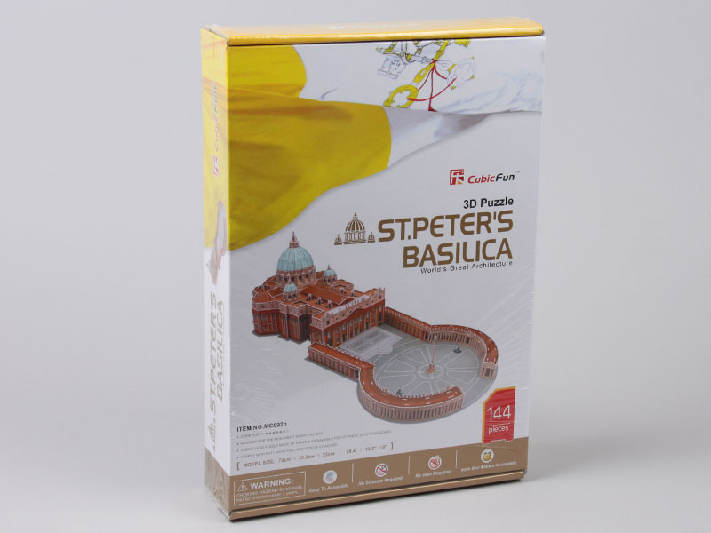 3D Puzzle MC092H ST. Peter's Basilica