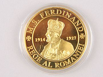 Medalie Regele Ferdinand & Regina Maria WD06