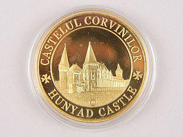 Medalie Ioan de Hunedoara & Castelul Corvinilor WD07
