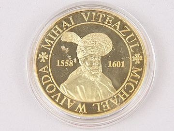 Medalie Mihai Viteazul & Cetatea Alba Carolina WD01