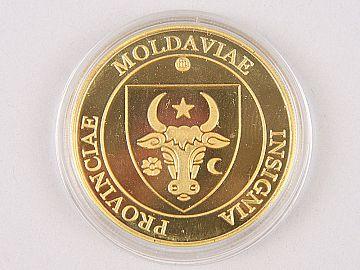 Medalie Stefan cel Mare & Stema Provinciei Moldova WD09