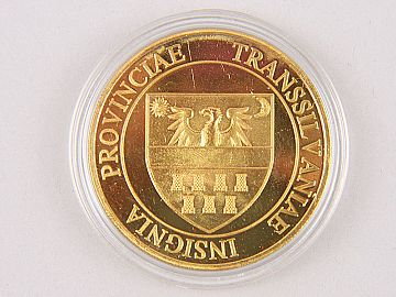 Medalie Vlad Tepes & Stema Provinciei Transilvania WD03