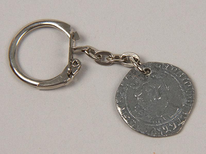 Breloc Moneda Dinastia Tudorilor