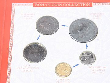 Set 5 Monede Romane RCP5