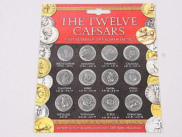 Set 12 Monede Imparati Romani TCCP