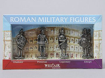 Set 4 Miniaturi soldati romani (in cutie) RP5